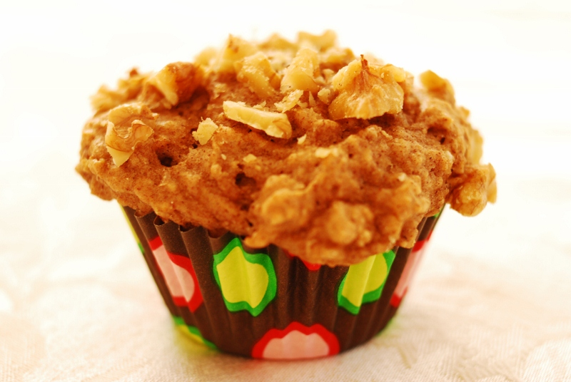 Banana Walnut Power Muffins