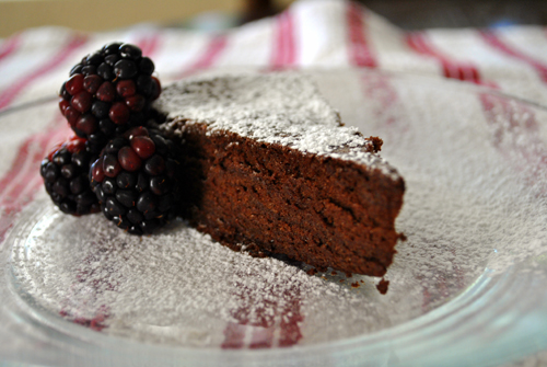 Flourless Chocolate Cake: Fallon's Cucina