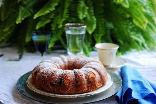 Blueberry Delight Coffee Cake