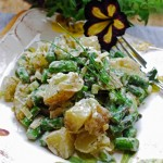 Roasted Asparagus Potato Salad